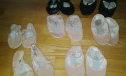 Email for pictures and Price Pink So Danca Size 8.5 Kids Pink ABT Size 9.5 Pink ABT Size 10.5 Pink Capezio Size 10.5 Pink ABT Size 11 Black Capezio Size 1.5 Black Capezio Size 5.5