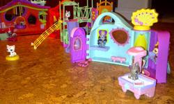 LOTS OF LITTLEST PETSHOPS!!!!!! Four large sets and lots of pets plus tons of accessories! Tons of fun for your little girl. $50