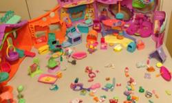 Huge assortment of Littlest Pet Shops! 44 Pets, 2 habitats, plus accessories. This ad was posted with the Kijiji Classifieds app.