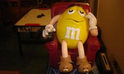 M&M Candy Dispenser. Great condition asking $5.