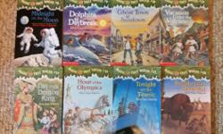 16 Magic Tree House books in very good condition.