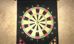 easy to use magnetic dart board with four magnet darts included cell: 519 994 7307 home: 519 821 6267
