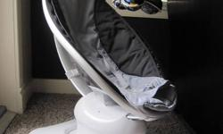 Brand new condition! Black and grey Mamaroo chair. Have you ever seen a parent vibrate like a bouncy seat or swing like a swing? No. But you have seen thousands of parents scoop their little ones up in their arms and bounce and sway. And that?s what the