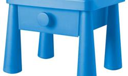 IKEA Mammut Blue nightstand in excellent condition. Matching 3-Drawer Dresser also available. Pickup in Barrhaven.