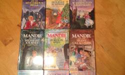 "12 volumes of ""Mandie Books"" by Lois Gladys-Leppard juvenile fiction - age 9-12 new condition"