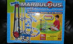 Battery operated marble drop,330 pcs, can build many different configurations. email or ph, text 250-927-0695