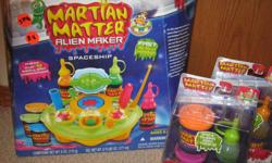 Martian Matter Alien Maker original kit with two extra refill sets.