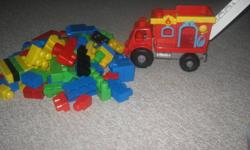 Fire truck also has fire station which removes off back of truck. comes with a fire fighter & dalmation dog. Excellent condition, from smoke free home. Northwest end of Barrie $10