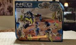 Mega Blocks Neo Shifters Building Set...New and Never Opened 158 pieces $25.00 OBO