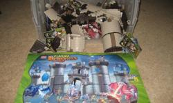 Hours of fun with this castle.  This set was kept separate from other lego and mega bloks,