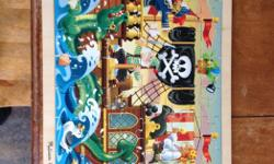 Great wooden puzzle that we have just outgrown. 48 pieces as shown.