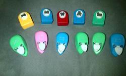 set of 11 heavy duty mini shape cutters