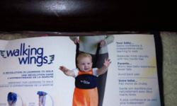 Walking wings used to help teach your child to walk instead of pulling on there arms. Works great! Asking $5. Two brand new nursery pictures never used asking $10 for both. This ad was posted with the Kijiji Classifieds app.
