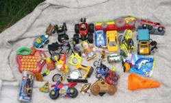 Misc. toys - $15 Lego, Tonka, fisher price & other misc toys.