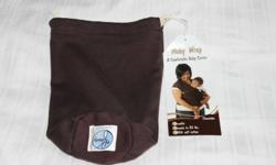 Moby Wrap...Used Once...In Excellent condition....Color Chocolate...100% Soft Cotton
