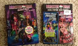 Monster High Ghouls Rule Double Feature: Friday Night Frights and Why do Ghouls Fall in Love
