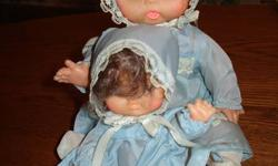 Mother Doll With Baby Doll   Please see my other items for sale - LOTS of Christmas Items