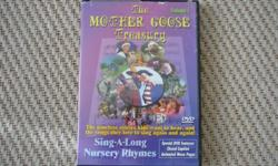 Mother Goose Treasury, Volume 2 DVD Visiting the village of Gooseberry Glen will bring you into a new journey of story and song, as the classic nursery rhymes of Mother Goose come alive for you and your family to sing along with. This collection contains