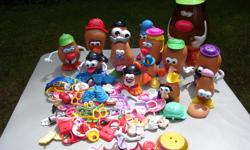 'Mr. Potato Head' stuff with several heads and lots and lots pieces to make your own personal creations. Please leave your phone number to contact.