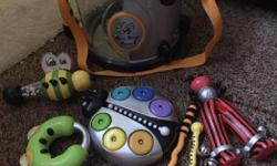 Parents bee bop band drum kit with 4 addt instruments included