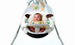 Better for Baby? Soothes Soothing music and alternate swinging motions help calm baby and promotes a sense of security. Plush fabrics enhance baby?s sense of security by providing comfort. Seeing baby?s own image in the mirror encourages self-recognition,