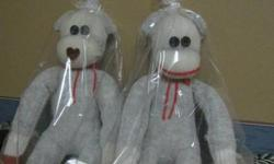 I am now taking orders for Sock Monkey water bottle covers. These covers will fit a regular 500 ml pop bottle as well as a tall stainless water bottle as in the picture. Great for taking to sporting events or even out with the dog for a walk. The carrying