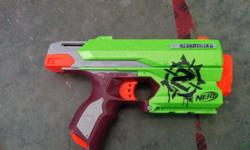 I'm selling my nerf gun. It all works just needs darts.