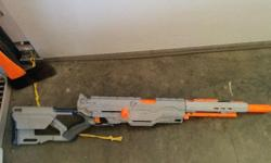 Selling my nerf gun. It all works just need dart's.