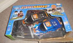 Take all for $40 or make me a deal on one. The box on the race car and remote toy has been slightly opened but never used or taken out of box.The rest are in great shape and never opened.