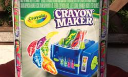 Includes 1 crayon maker, 1 crayon mold, 8 crayola crayons, 2 crayon holders, BULB INCLUDED Please check out my many other listings