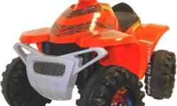 Power Wheels Kids Mini Quads  Spiderman and Iron Man 2 models that kids love !!   We have 11 different models of Fisher Price Power Wheels Cars in stock for Christmas!       Features   Brush guard bumper Simple single push button operation 1 Forward speed