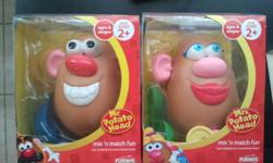 From playskool. two separate potato head, 1 male & 1 female. Totally New. In their original boxes.
