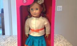 Sadie doll. New in box. 18 inch.