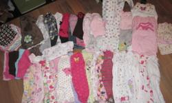 I have quite a few items, range from newborn to 3 months in size. Undershirts, outfits, sleepers, and nightgowns. All from smoke free and pet free home, excellent condition. Make me an offer.