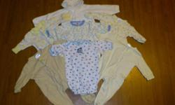 Newborn Boys Clothes Pet free/Smoke free home