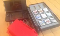 Nintendo DS, case & games all in great shape $95 for everything