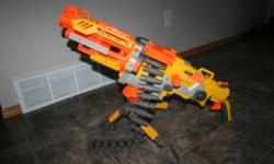 my son is selling his nurf gun, asking $12.00