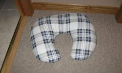Nursing pillow in excellent shape.  From a pet and smoke free home.   If you are reading this ad then it is still available.