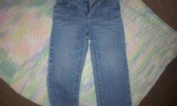 Both girls Old Navy jeans size 2.  $4 each or both for $6.