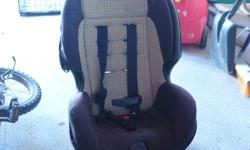 Car seat suitable, rear facing for 5-30 lbs then can be converted to forward facing when needed or required.