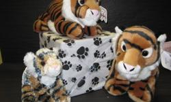 grrr....Tigers!   Bears & Wishes dont just carry bears, we carry a large assortment of animals! Everything from Hippo's to Dragons! And for all you cat lovers out there- we also carry a collection of Tigers!   Luv to Cuddle- Orange Tiger: Aurora World 11""