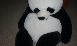 Large Panda Stuffed Animal, in excellent condition