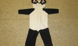 Super cute Panda halloween costume.  Sz. 12m    $5 firm.