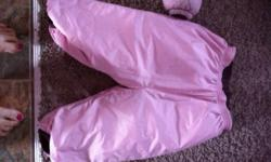 Girls puff rider insulated pants and jacket very warm and not bulky. Great quality as you would expect from Patagonia ! No rips or tears paid about 200 for this worn gently by two girls mostly in car seats on cold days This ad was posted with the Kijiji