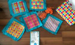 brand new in box with instructions by alextoys.com create your own quilt.