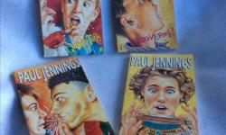 Funny and suspenseful short stories for ages 8-12. They are particularly good for engaging boys to read. Paul Jennings wrote them for his sons and then they found a wider audience. Great to read aloud to your child as well. Buy one book or the whole set