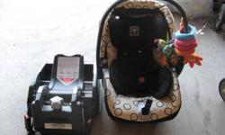 Peg Perego car seat + base + stroller for sale.   All items in this ad sold together.   Everything is this ad is 3 years old   Asking 140.00 obo   Ask for Paul or Nicole