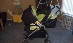 Peg perego p3 stroller and infant carseat 5 to 22 lbs with 1 base. In excellent condition clean and from smoke free home selling as set because our son has out growen carseat. Asking $250.00 if interested please call 403.596.5651.