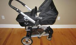 Purchased in September 2008 from Royal Diaperer in Bedford, Nova Scotia. Skate System: design and innovation for infants to toddlers. With the newly redesigned modular system, you can quickly and easily attach either stroller seat or bassinet to the