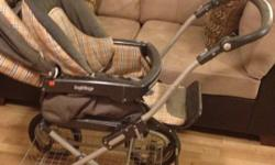 This buggy is awesome it's such a comfortable buggy for baby and parents, it has a five point harness, I lays right back, it can face forwards or backwards and the handle is adjustable, it has a large storage underneath the buggy as well, it also has